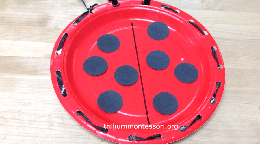 Coloring Pages Ladybug : Bugs! fine motor and art activities on the montessori shelf