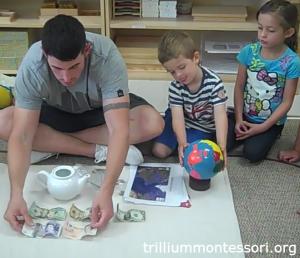 England- Money- Trillium Montessori