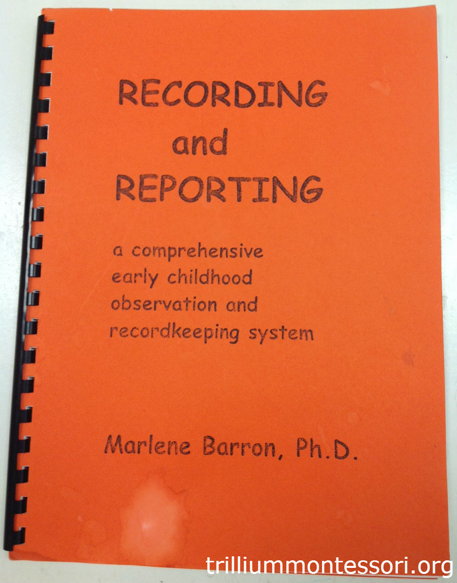the evolution of my montessori record keeping system