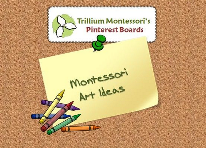 Art Pinterest Board Trllium Montessori