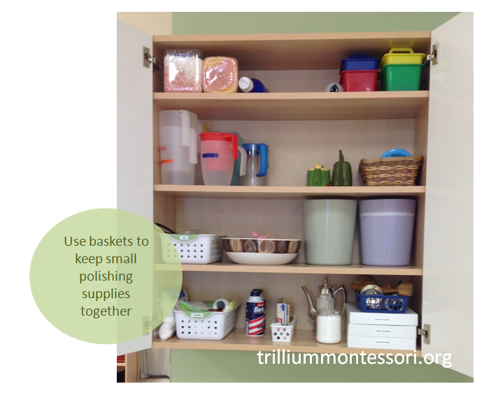 Baskets for small items