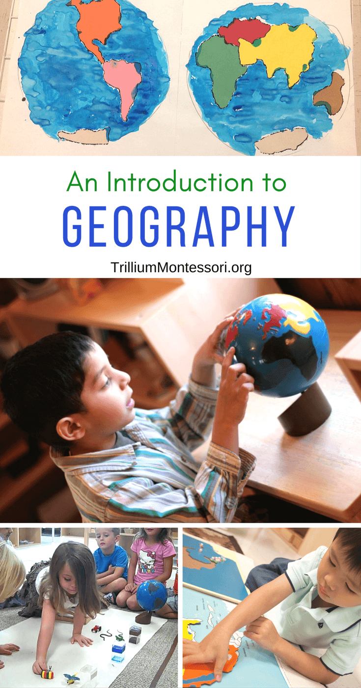 An introduction to Montessori Geography for preschoolers