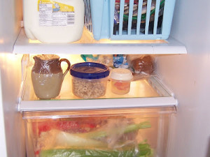 Fridge from The Montessori Child At Home