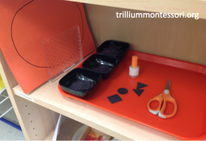 Jack O Lantern Gluing Montessori October