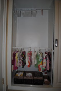 Toddler Closet from Vibrant Wanderings
