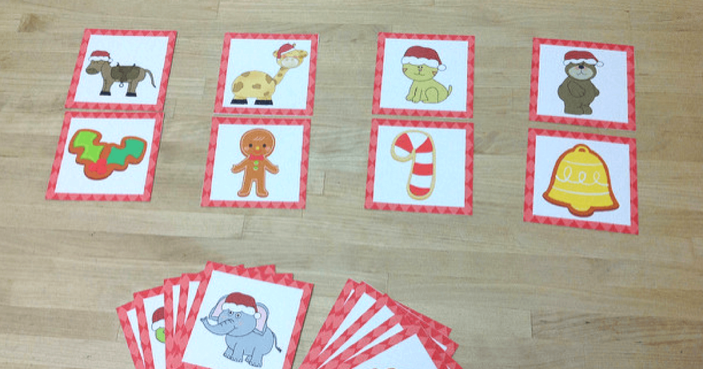 December Christmas themed Phonological Awareness