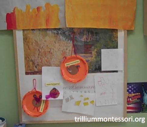 Preschool Thanksgiving Feast- Inspired Decorations
