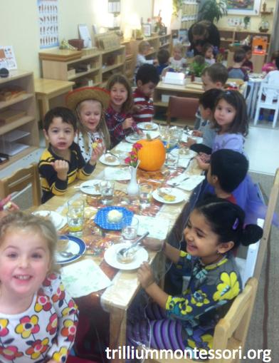 Preschool Thanksgiving Feast