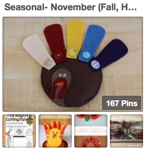 Trillium Montessori November Pinterest Board