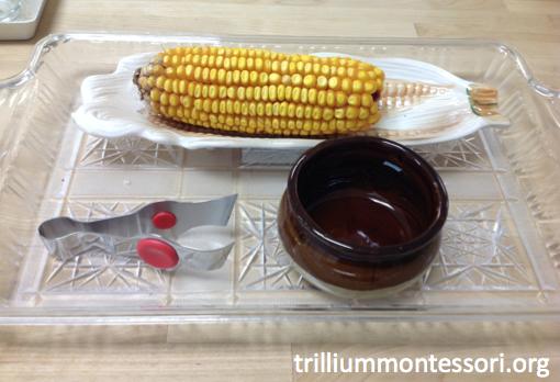 Tweezing Corn