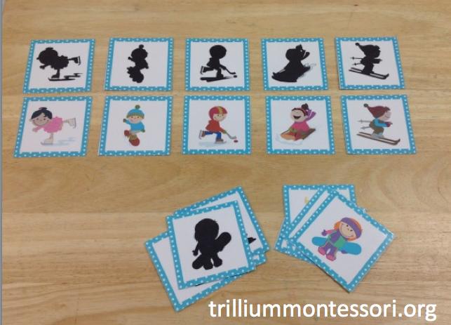 montessori and preschool printables for winter trillium montessori. Black Bedroom Furniture Sets. Home Design Ideas