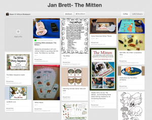 The Mitten Pinterest Board