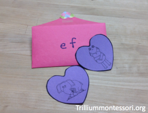 Initial Letters and Sounds Envelope