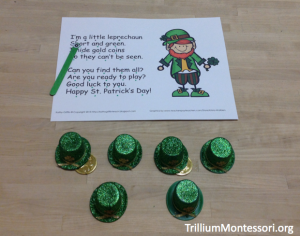 St Patricks Day Leprechaun Poem and Game