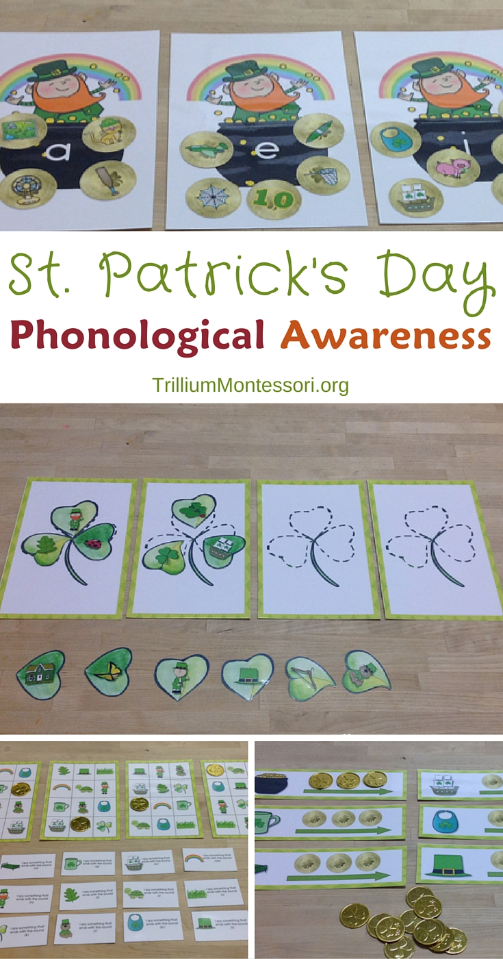 St. Patrick's Day Phonological Awareness