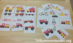 Valentine Vehicles Picture Matching