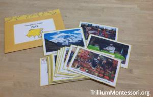 Asia Folder Photo Cards
