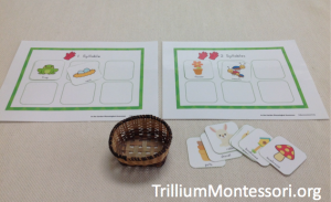 In the Garden Syllable Sorting Mats