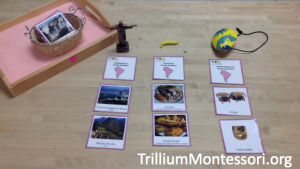 Sorting Landmarks Food and instruments from South America