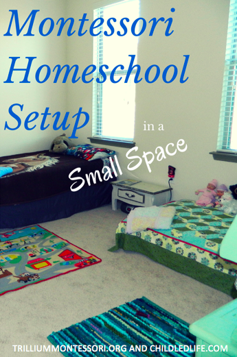 Montessori Setup in a Small Space Montessori at home 5 part series