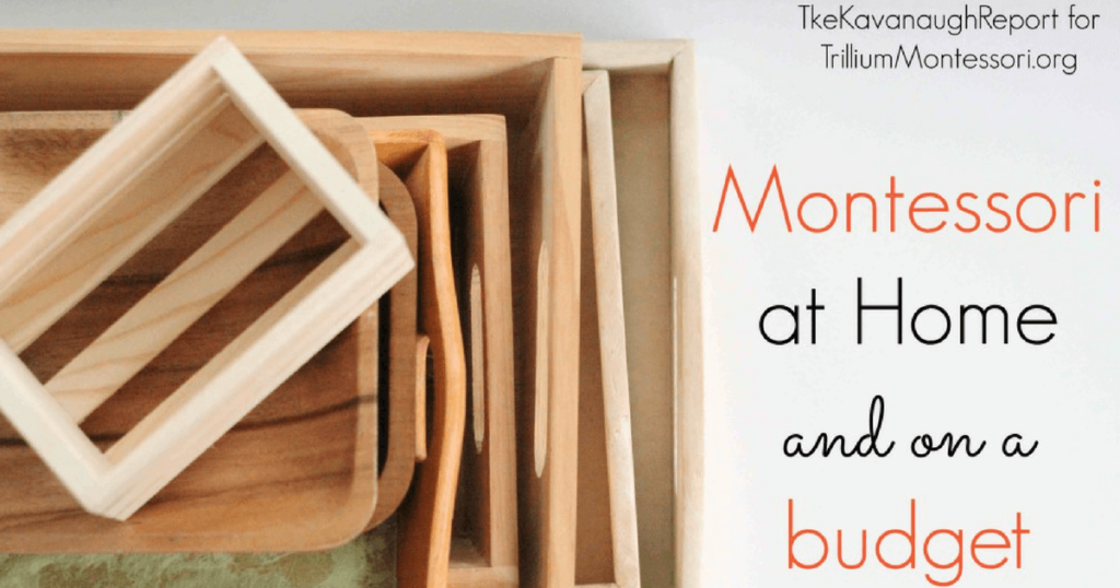 Montessori at Home and on a Budget
