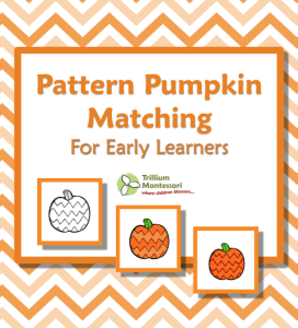 Pattern Pumpkin Matching Free Printable