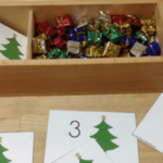 Lots of December and Christmas themed printables and activities for preschoolers