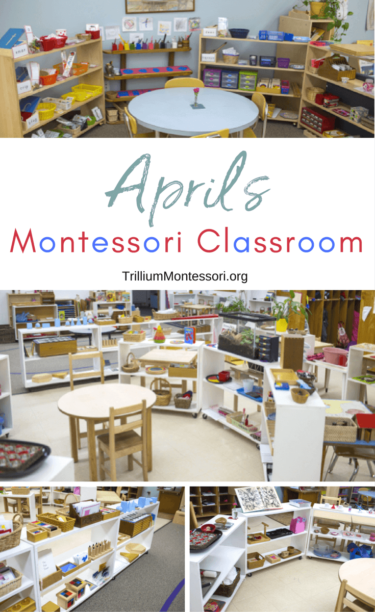A tour of April's Montessori classroom