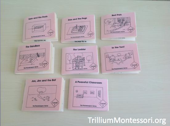Phonetic Books for Beginning Readers - Trillium Montessori