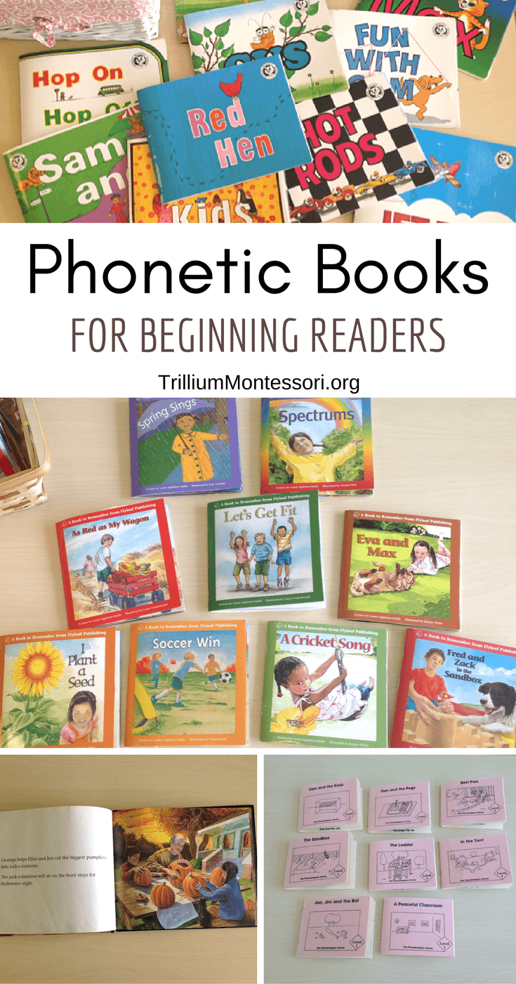 graphic relating to Printable Decodable Books for First Grade named Phonetic Publications for Commencing Site visitors - Trillium Montessori
