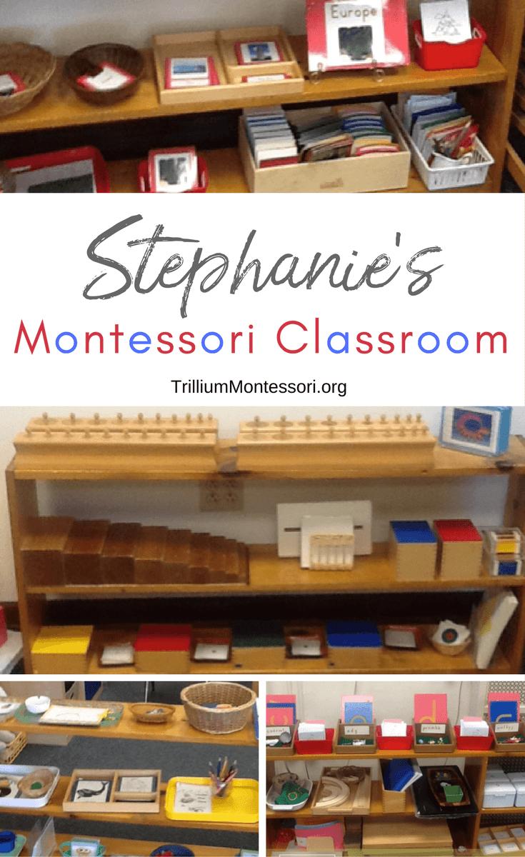 A tour of Stephanie's Montessori classroom