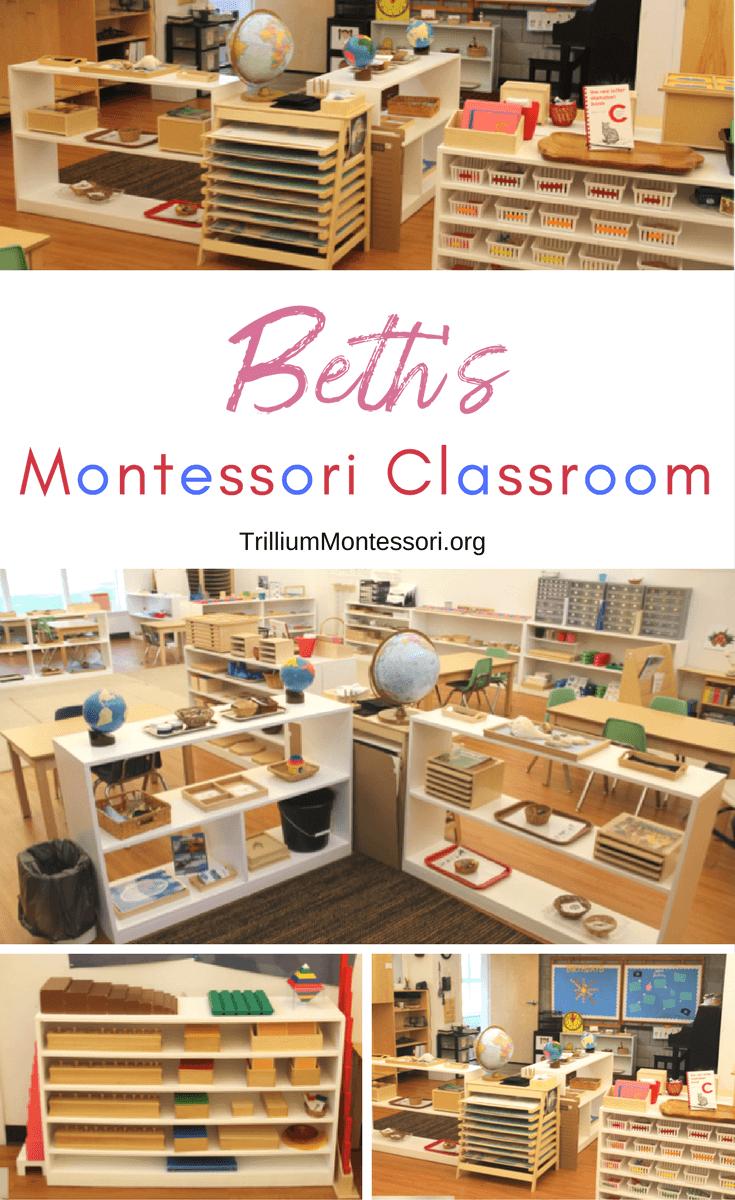 A tour of Beth's Montessori classroom
