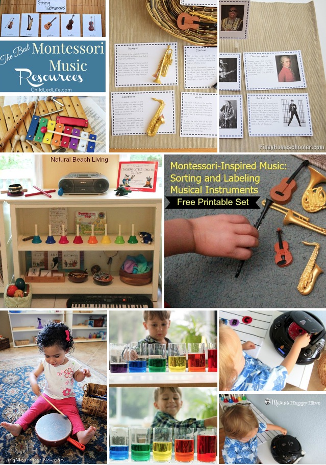 12 months of montessori learning music