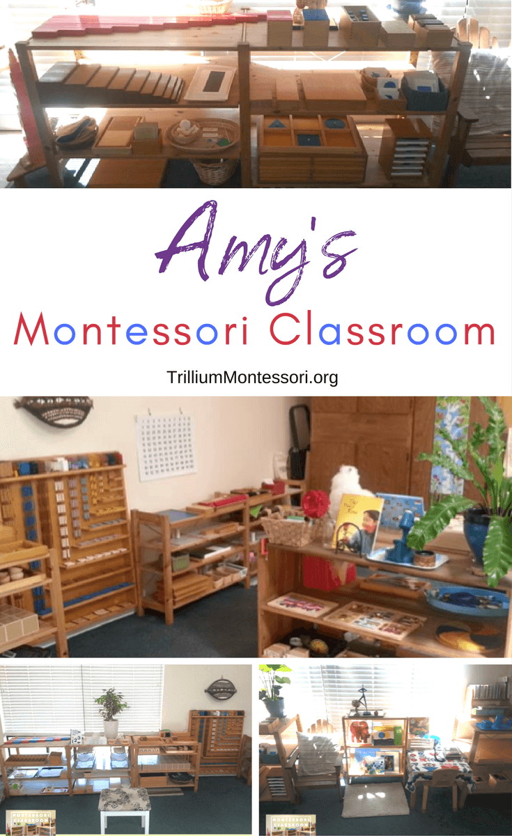 A tour of Amy's Montessori classroom