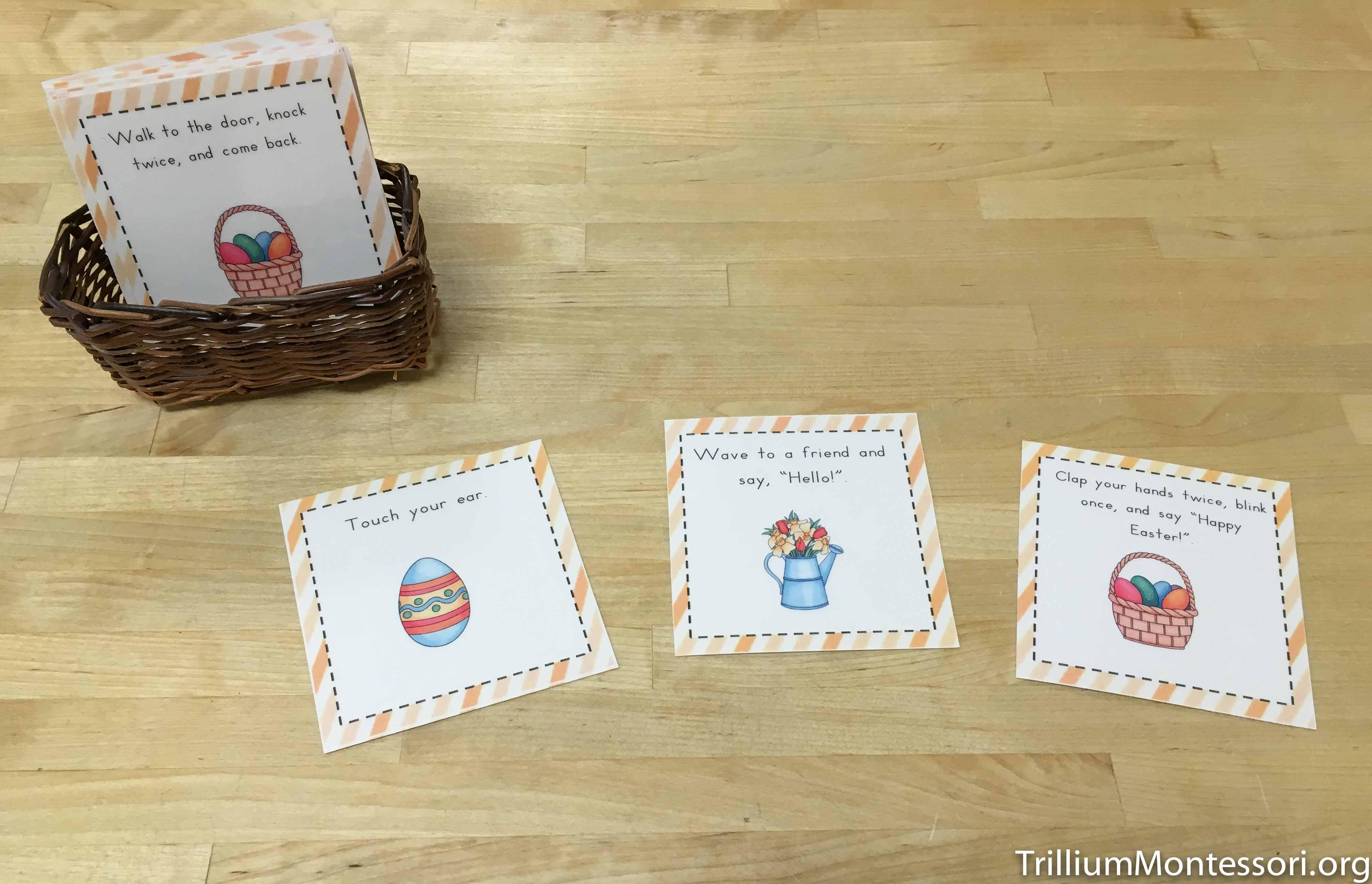Easter Preschool Activities Trillium Montessori