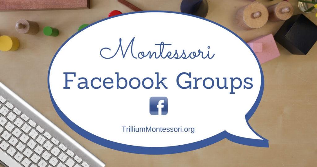 Montessori Facebook Groups