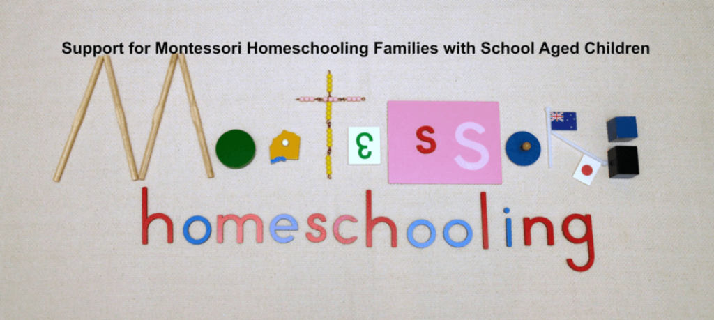 Connect with other Montessori Homeschoolers