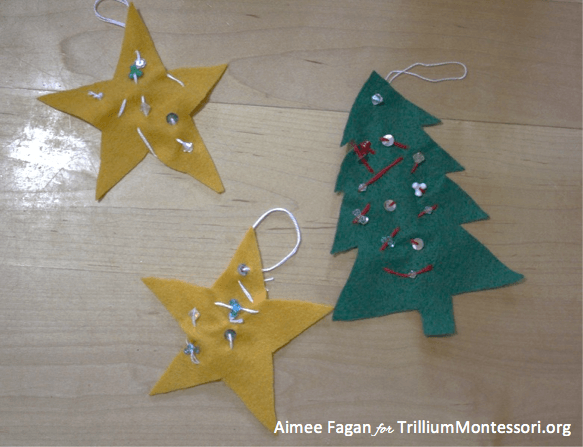 Holiday Gifts Your Child Can Sew Trillium Montessori
