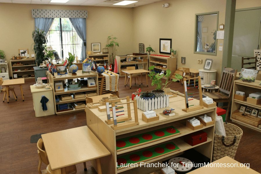 Montessori Classroom Wall Design ~ A tour of lauren s montessori classroom trillium