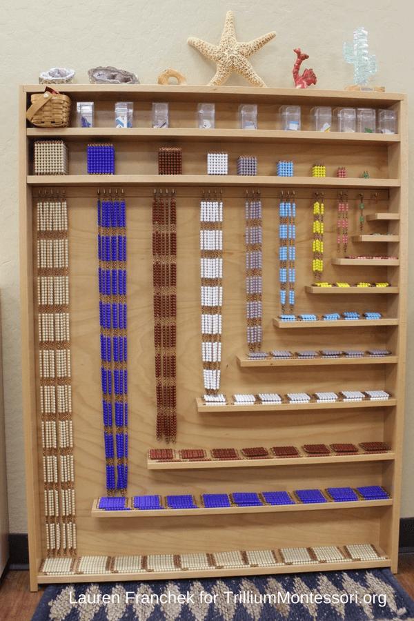 Lauren S Montessori Classroom The Math Area Trillium