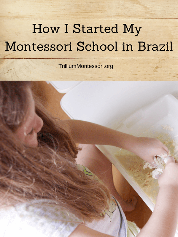 How a mother and daughter team started a small Montessori school in Brazil