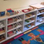 Jennifers Montessori Language Shelves
