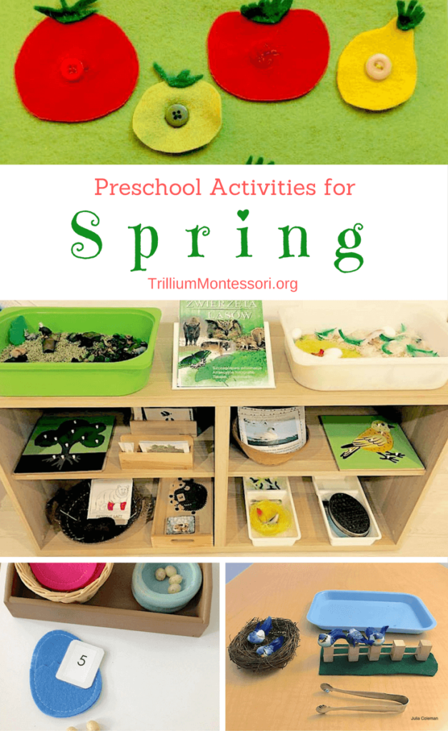 Classroom Ideas For Preschoolers ~ Spring ideas for the preschool classroom