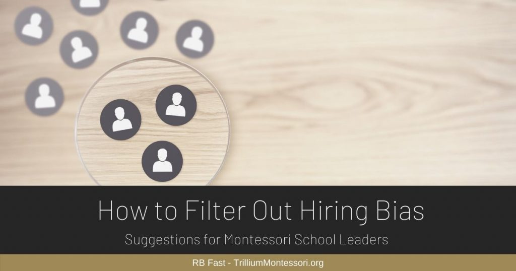RB How to Filter Out Hiring Bias