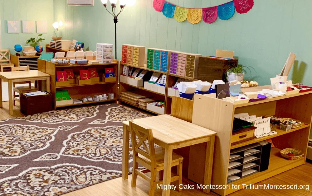 Erin's Montessori Classroom Setup Language Area