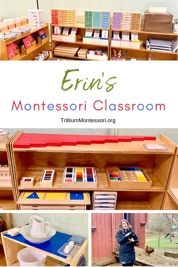 A Tour of Erin's Montessori Classroom Setup at Might Oaks Montessori in Asheville, NC