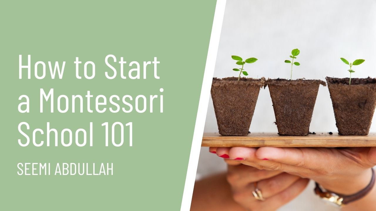 teachable course thumbnail how to start a Montessori School 101