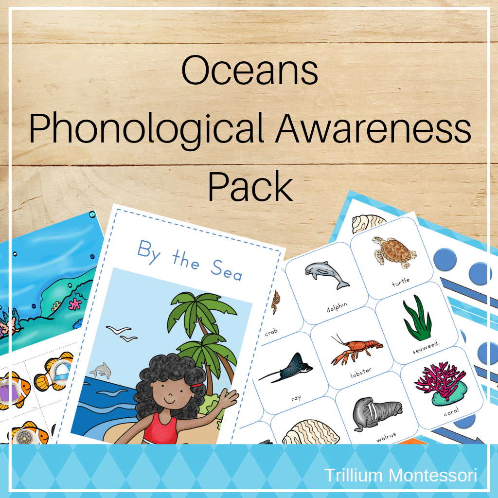Oceans Phonological Awareness Pack cover square